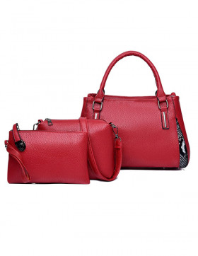 Set Genti Dama Perrier Red