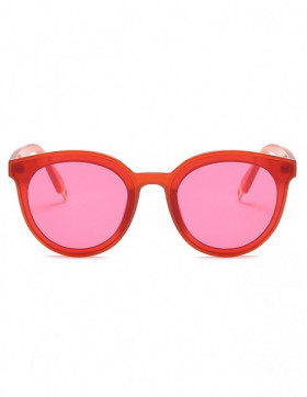 Ochelari de Soare Cat Eyes Candid Red Transparent