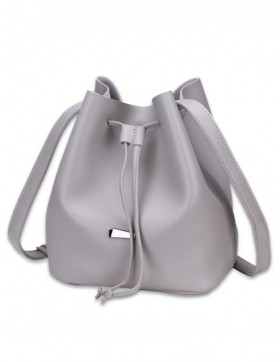 Geanta Bucket Light Grey