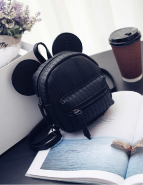 Minirucsac Mickey Black