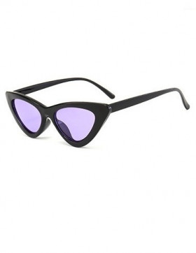 Ochelari de Soare Cat Eyes Venice Black - Purple Transparent