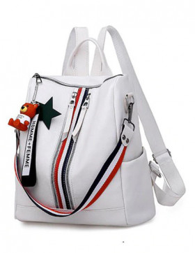 Rucsac Dama Convertible Camp White