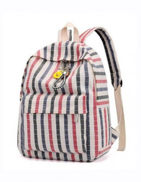Rucsac Dama  Rodos Blue & Red