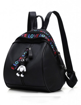 Rucsac Love Teddy Black