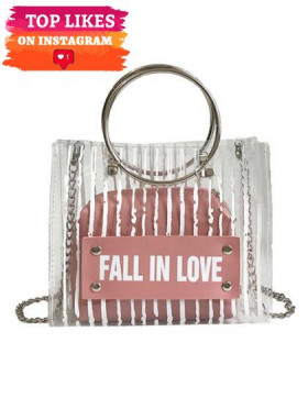 Set Genti Dama Fall In Love Pink