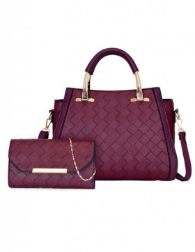 Set Genti Dama Loire Weave Purple*