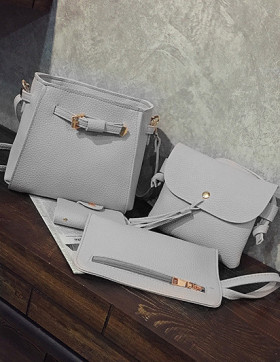 Set Genti Dama Miami Grey