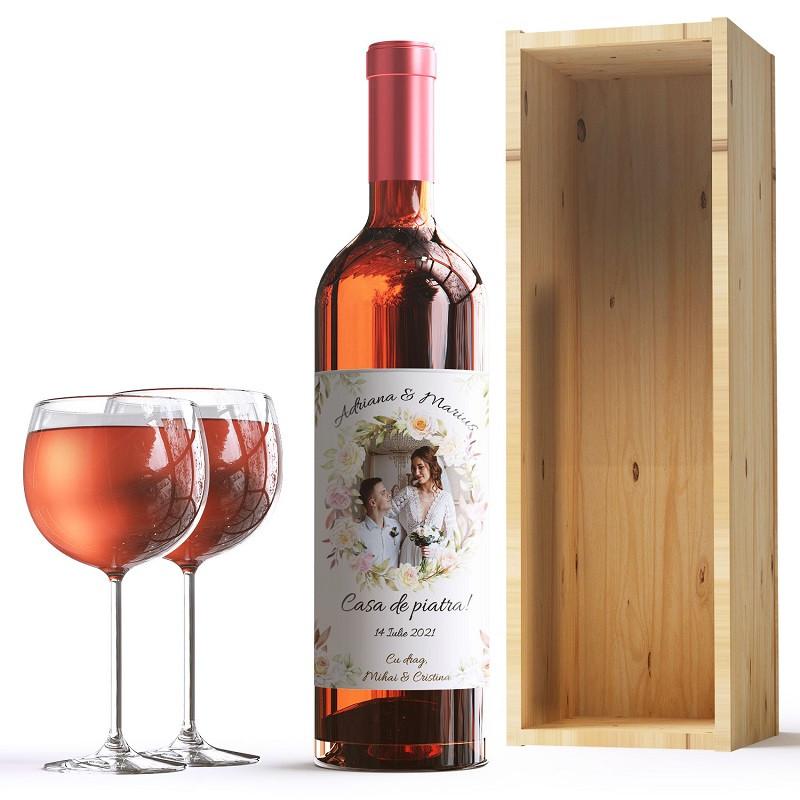 Sticle vin personalizate