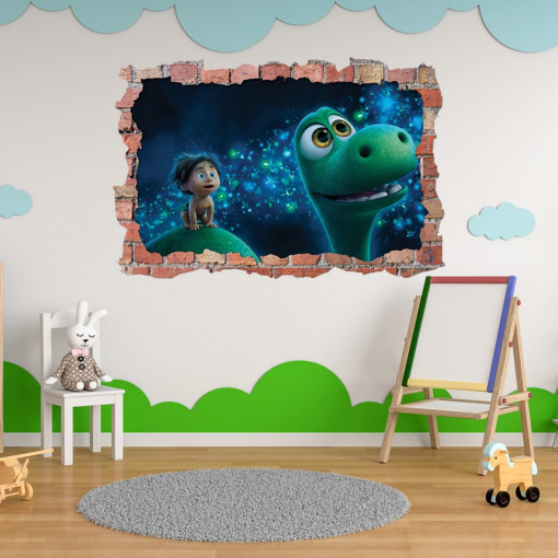 3D Sticker perete 60x90cm - The Good Dinosaur