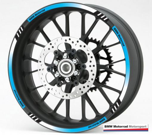 Rim Stripes - BMW albastru