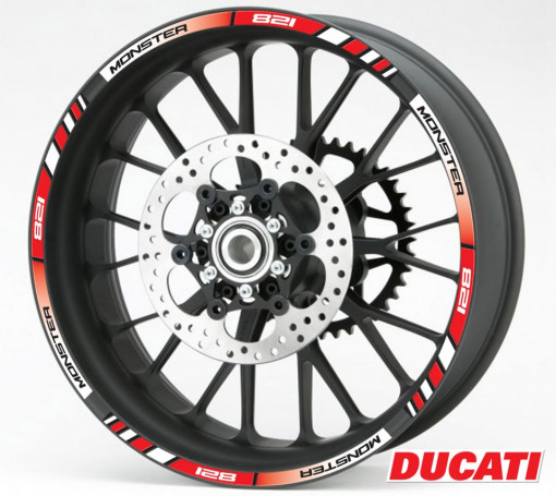 Rim Stripes - Ducati Monster 821