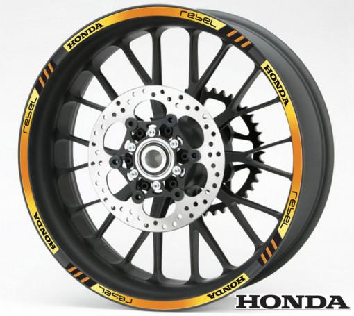 Rim Stripes - Honda Rebel auriu