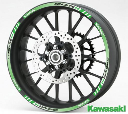 Rim Stripes - Kawasaki Concours 14