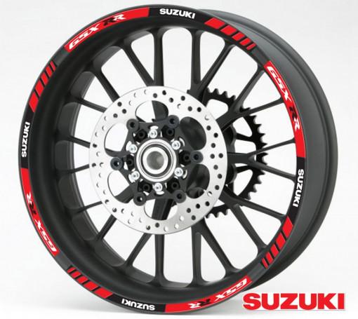 Rim Stripes - Suzuki GSX RR rosu