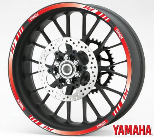 Rim Stripes - Yamaha R1 rosu