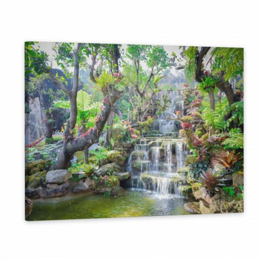 Tablou Canvas, Cascada in padure tropicala