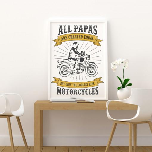 Tablou - Motorcycles