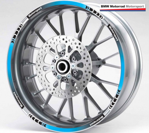 Rim Stripes - BMW albastru