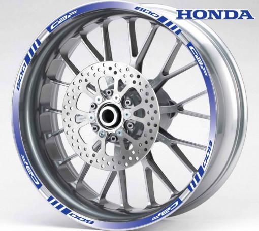 Rim Stripes - Honda CBF 600 albastru