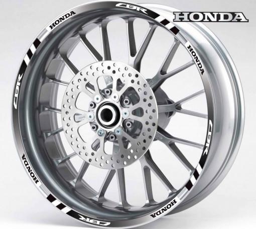 Rim Stripes - Honda CBR negru