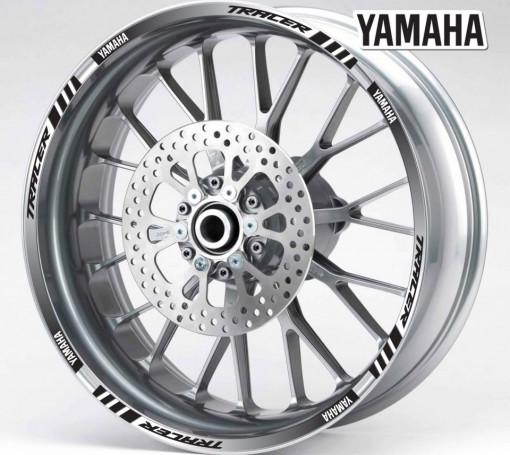 Rim Stripes - Yamaha Tracer negru