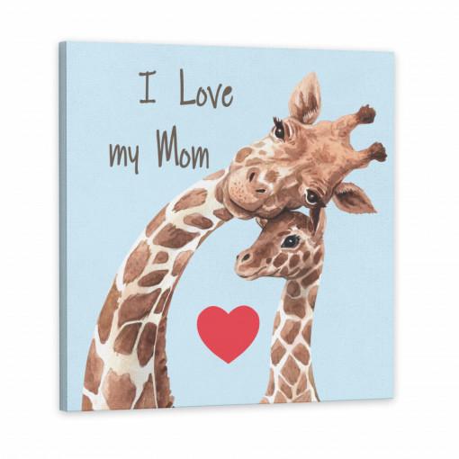 Tablou Canvas, I Love my Mom