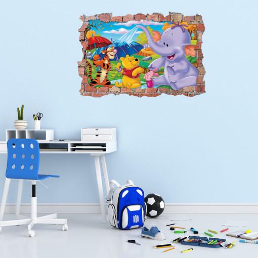 3D Sticker perete 60x90cm - Winnie de phoo2