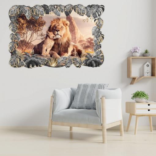 3D Sticker perete - Animale salbatice38