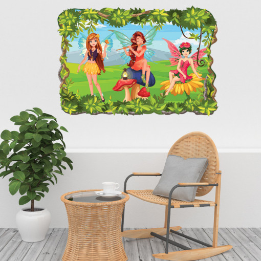 3D Sticker perete - Zane2