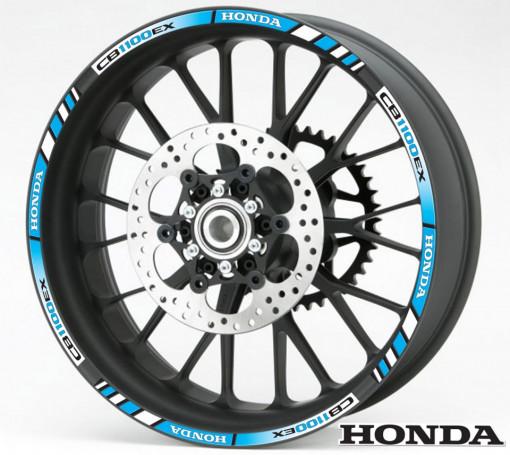 Rim Stripes - Honda CB1100EX albastru