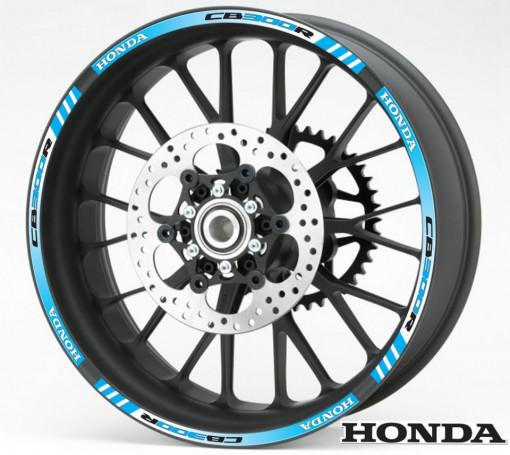 Rim Stripes - Honda CB300R albastru