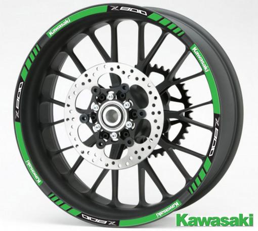 Rim Stripes - Kawasaki Z800