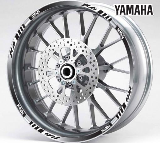 Rim Stripes - Yamaha R6 negru
