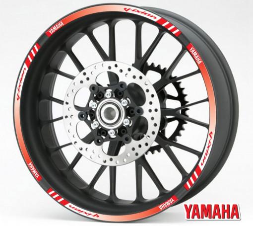 Rim Stripes - Yamaha Vixion rosu