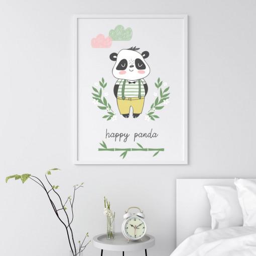 Tablou - Happy Panda