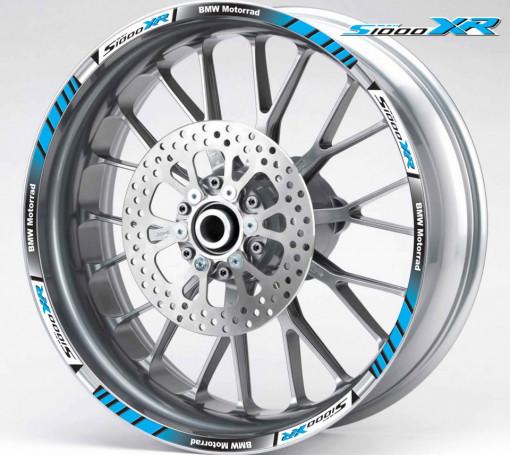 Rim Stripes - BMW S1000XR albastru