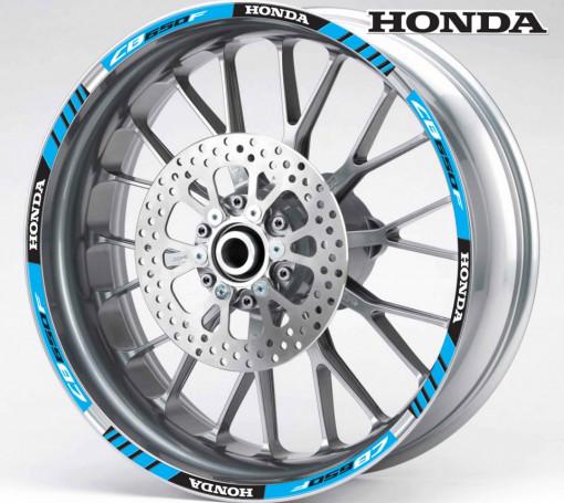 Rim Stripes - Honda CB650F albastru