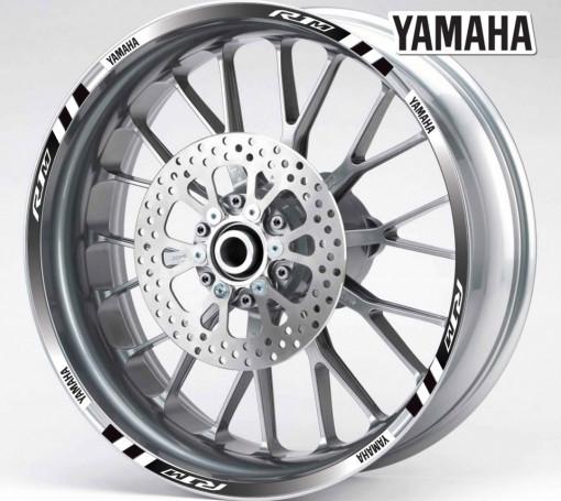 Rim Stripes - Yamaha R1M negru
