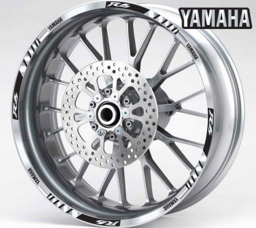 Rim Stripes - Yamaha R6 argintiu