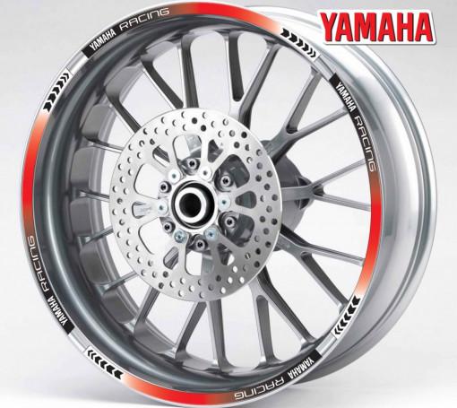 Rim Stripes - Yamaha Racing rosu