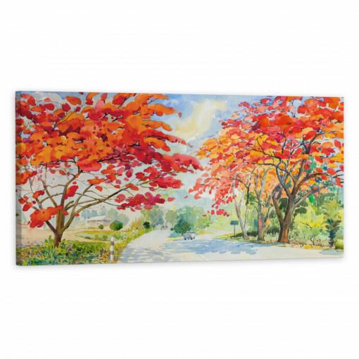 Tablou Canvas, Peisaj de toamna