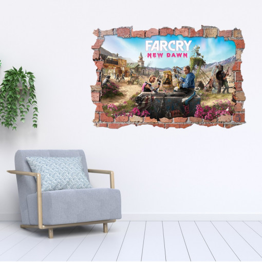 3D Sticker perete 60x90cm - Far Cry