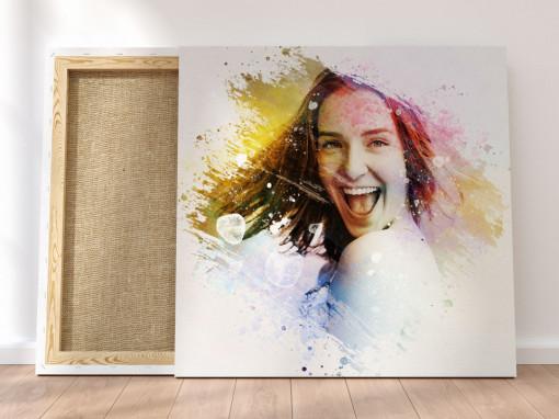 Canvas Personalizat - Efect Color Splash
