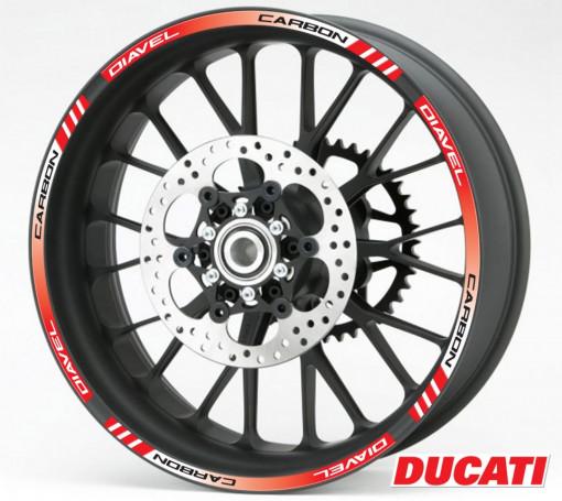 Rim Stripes - Ducati Diavel Carbon