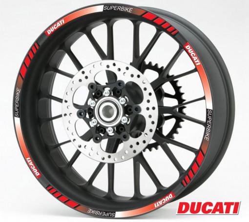 Rim Stripes - Ducati Superbike