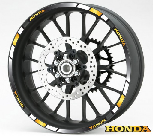 Rim Stripes - Honda auriu