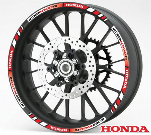 Rim Stripes - Honda CB1000R rosu