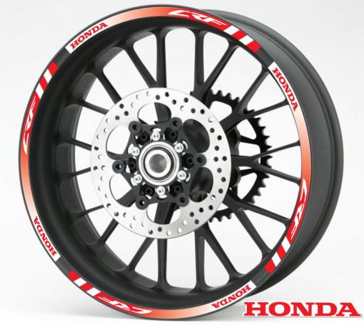 Rim Stripes - Honda CRF rosu