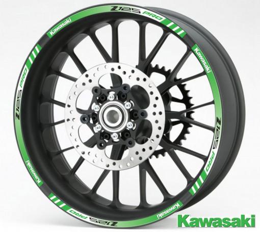 Rim Stripes - Kawasaki Z125 PRO