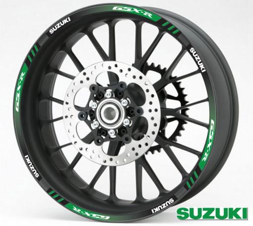 Rim Stripes - Suzuki GSX-R verde